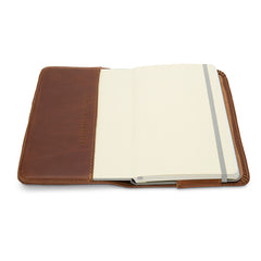 Brothers Leather Notebook Cover - Open