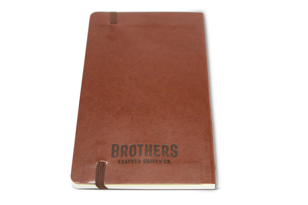 Brothers Leather Softback Notebook