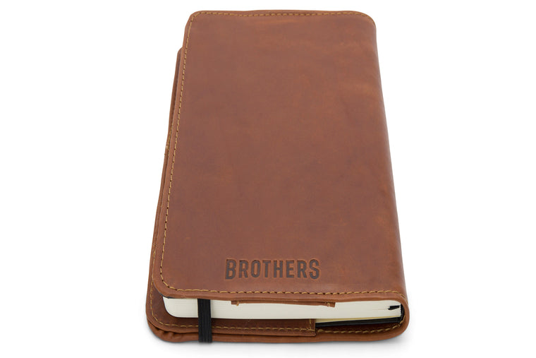 Brothers Leather Notebook Cover (20% OFF)
