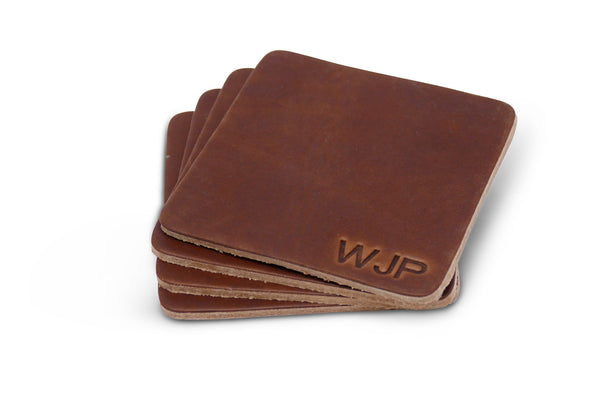 Brothers Leather Coasters