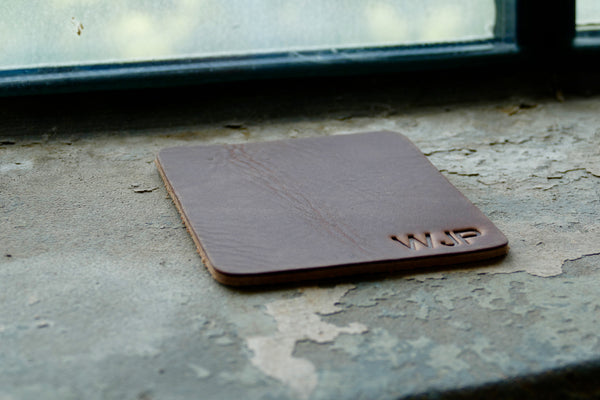 Brothers Leather Coasters - Custom Branded