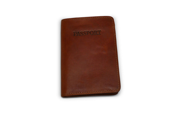 Leather Passport Cover - Brothers Leather Supply Co.
