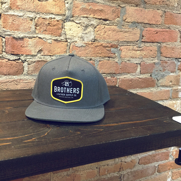 Brothers Leather Logo Hat - Brothers Leather Supply Co.