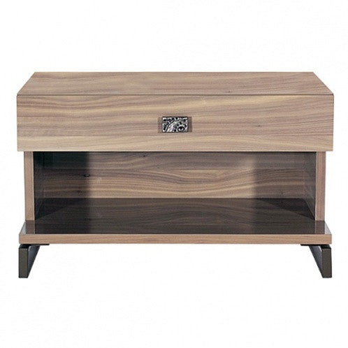 Solitaire 1-Drawer Nightstand