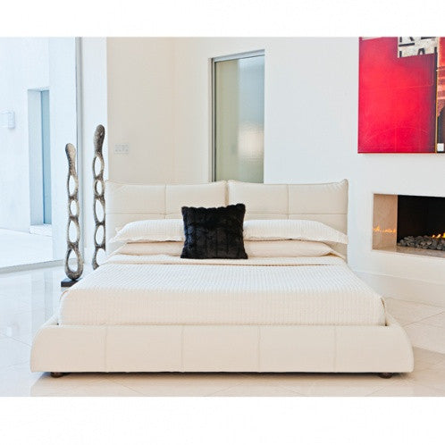 Ascott Bed - Ivory King