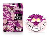 Disney Cheshire Cat Sheet Face Mask By Mad Beauty Cruelty Free