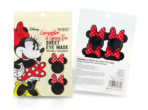 Disney Minnie Mouse Sheet Eye Mask By Mad Beauty