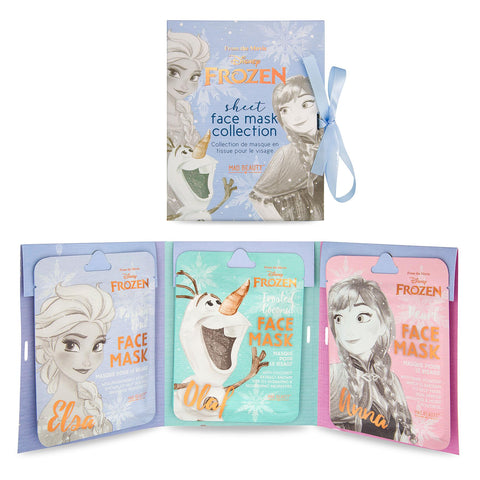 Disney Frozen Face Mask Set Of 3 Collection Cruelty Free