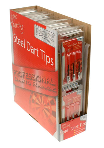 Gone Darting Standard Fitting Steel Dart Tips Pack Of 3