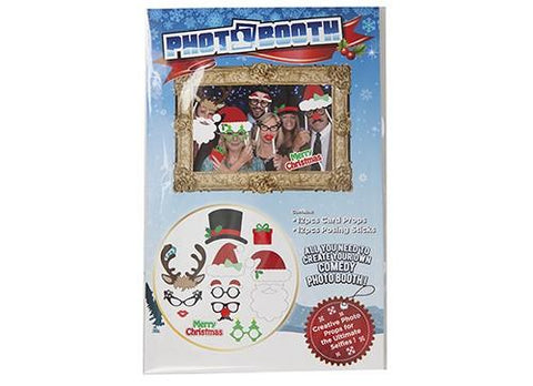 12pc Christmas Family Photo Booth Selfie Props