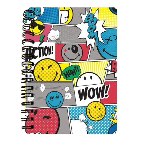 Comic Book Design 3D Effect Notebook