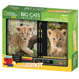 National Geographic Lion Super 3D Stationery Sets