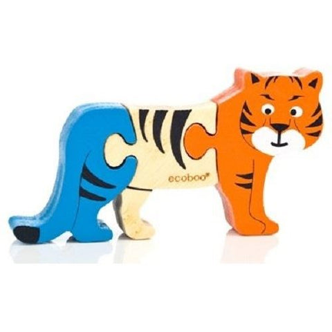 Mini Tiger Puzzle - Ecoboo