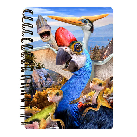 Oviraptor 3D Effect Howard Robinson Notebook