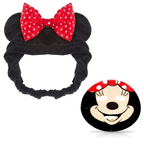 Minnie Mouse Beauty Bundle Head Band with Face Mask