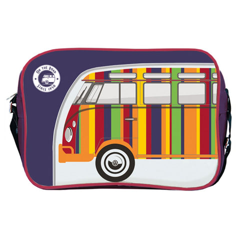 VW Bright Stripe Campervan Shoulder Bag Officially Licensed by Volkswagen