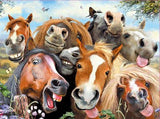 Howard Robinson Horse Selfie 48 Piece Super 3D Effect Puzzle