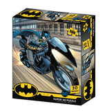 DC Batman Bat Cycle Prime 3D Effect Jigsaw Puzzle