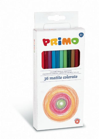 36 Pack Of Kids Colouring Pencils