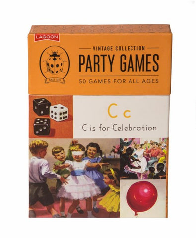 Ladybird Vintage Collection Party Games