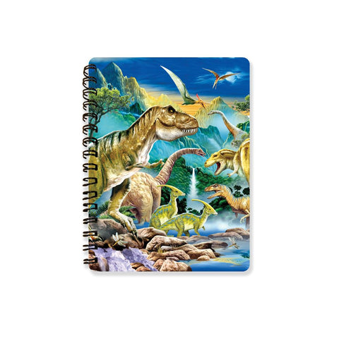 Dinosaur Valley 3D Effect Howard Robinson Notebook