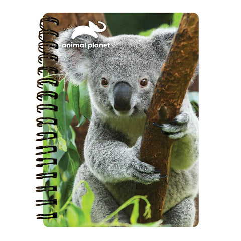 Koala Prime 3D Effect Animal Planet A6 Notebook