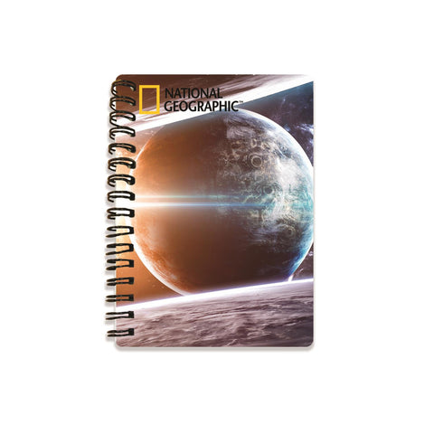 Earth & Sun Super 3D Effect Notebook By National Geographic
