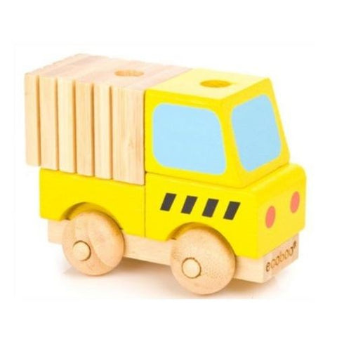 Ecoboo Bamboo Build A Vehicle - Truck