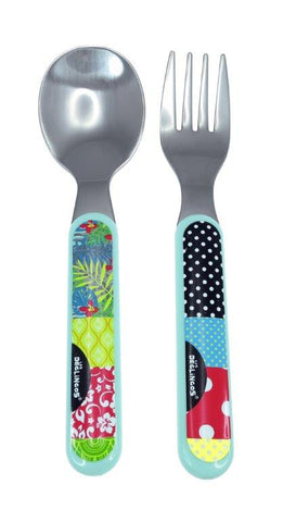 Deglingos Fork And Spoon Set 18m+