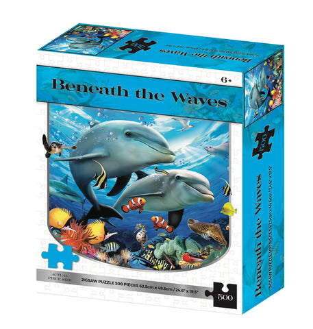 Beneath The Waves 2D 500 Piece Howard Robinson Puzzle