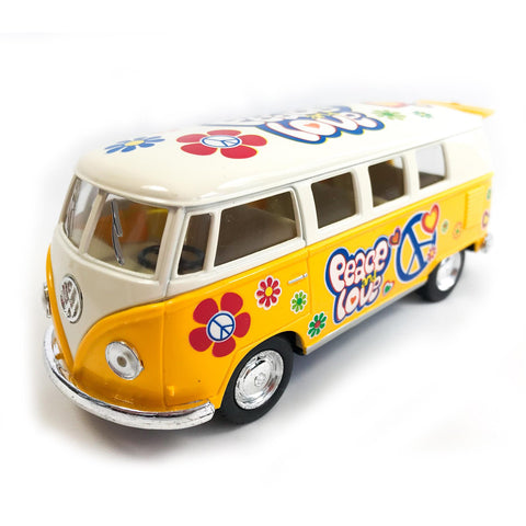 VW Diecast 1:32 Scale Model Classic Bus Tampo Print