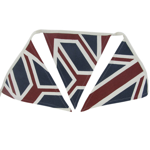 Union Jack Design Quality Canvas Bunting