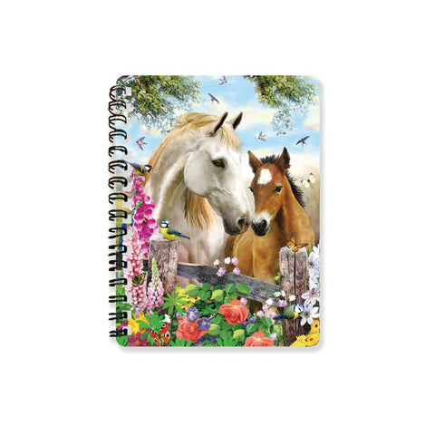 Summer Meadow Super 3D Effect Notebook By Howard Robinson