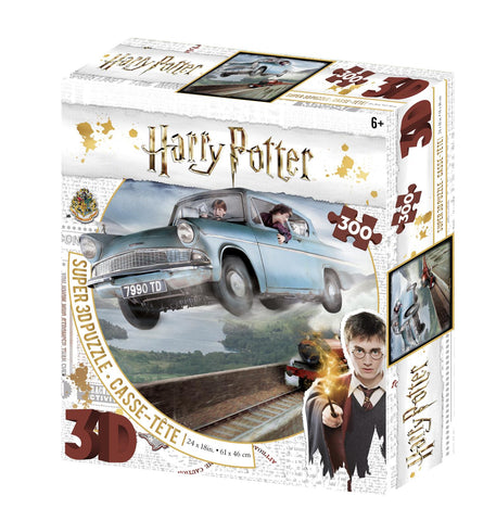 Harry Potter Ford Anglia Super 3D Effect 300 pc Puzzle