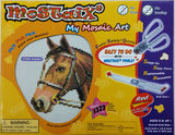 Mostaix Red Ribbon Series Mosaic Animal Art Set