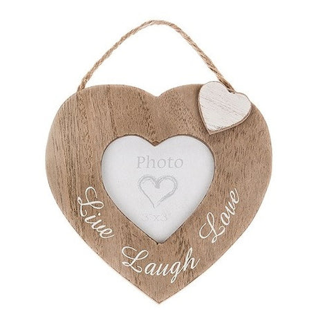 Heartfelt Words Hanging Heart Frame
