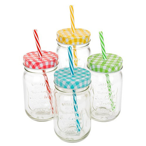 Country Garden Jar -Set of Four