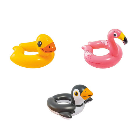 Inflatable Children's Animal Split Swimming Rings by Intex