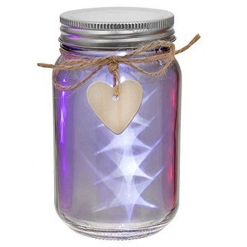 LED Firefly Star Jar