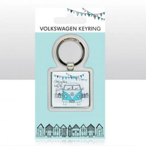 VW Campervan Epoxy Keyrings Officially Licensed Volkswagen