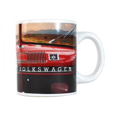 VW Retro Dashboard Design Ceramic Mug Officially Licensed By Volkswagen