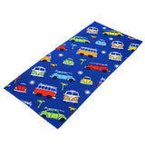 VW Blue Design Quick Drying Towel