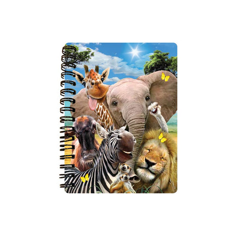 Africa Selfie 3D Effect Howard Robinson Notebook