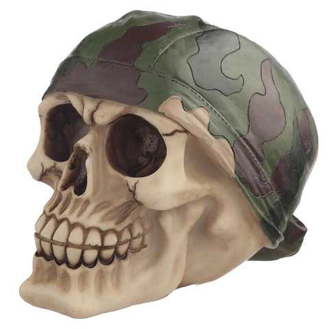 Polyresin Skull Halloween Decoration