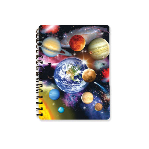 Solar System 3D Effect Howard Robinson Notebook