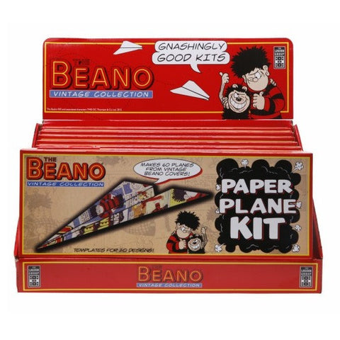 The Beano Vintage Collection Paper Plane Kit
