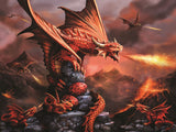 Anne Stokes Fire Dragon 500pc Super 3D Effect Puzzle