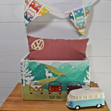 VW Wooden Fir Crates Set Of 3 Road Trip Design Officially Licensed By Volkswagen