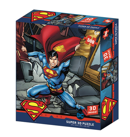 DC Superman Prime 3D Effect Jigsaw Puzzle