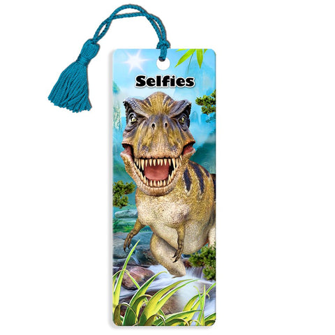T-Rex Selfie Super 3D Effect Howard Robinson Bookmark
